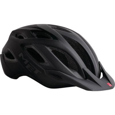 MET Crossover Helm schwarz universal
