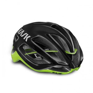 Kask Protone black lime