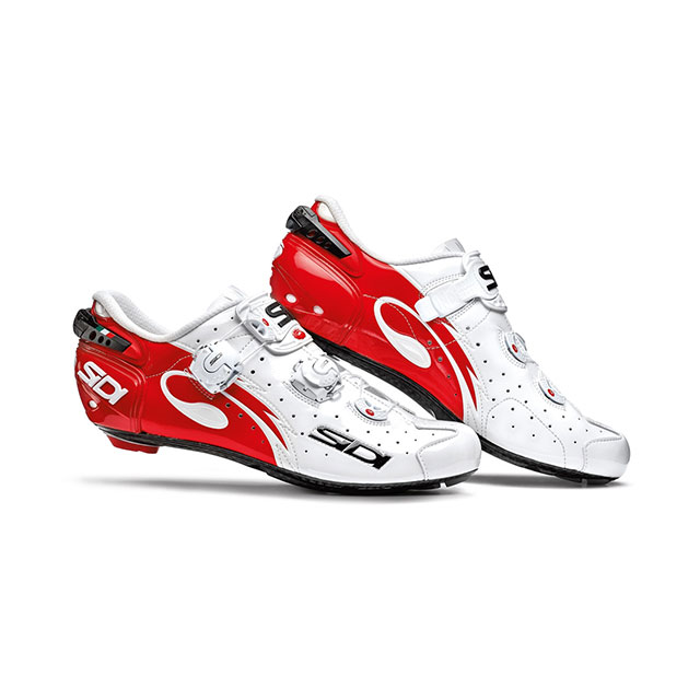 Sidi Wire Carbon Lucido Road Schuh rot