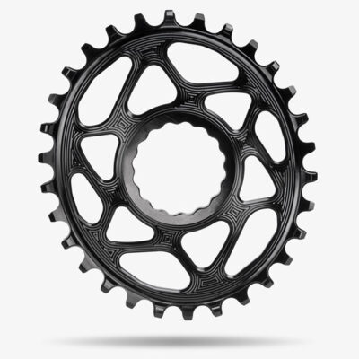 AbsoluteBlacksram-oval-RaceFace-direct-mount-Black