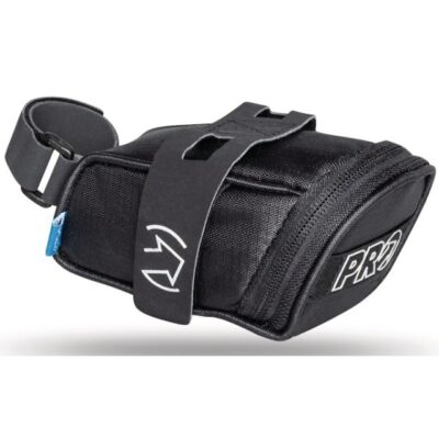 PRO Satteltasche mit Velcro schwarz