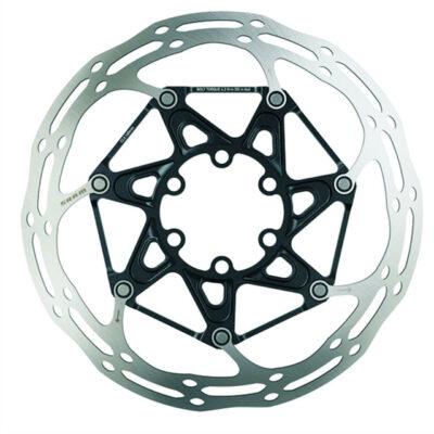 SRAM-Centerline-Rounded-6-Loch-Bremsscheibe-mit-Titan-Schrauben-2-teilig