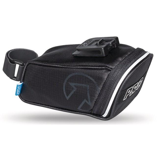 PRO Satteltasche mit Schnellverschluss schwarz