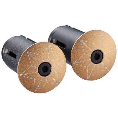 Lenkerendkappe-Star-Plugz-Gold