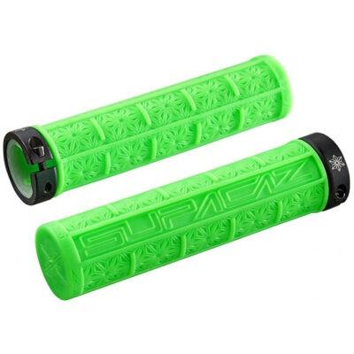 Lenkergriffe-Grizips-Neon-Green