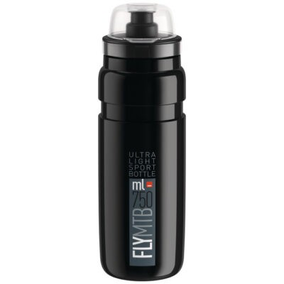 Elite Bidon Fly MTB 20 750 ml schwarz-grau